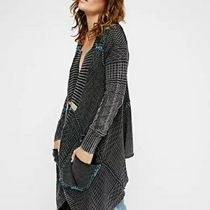 Never worn Free People All Washed Up Cardigan